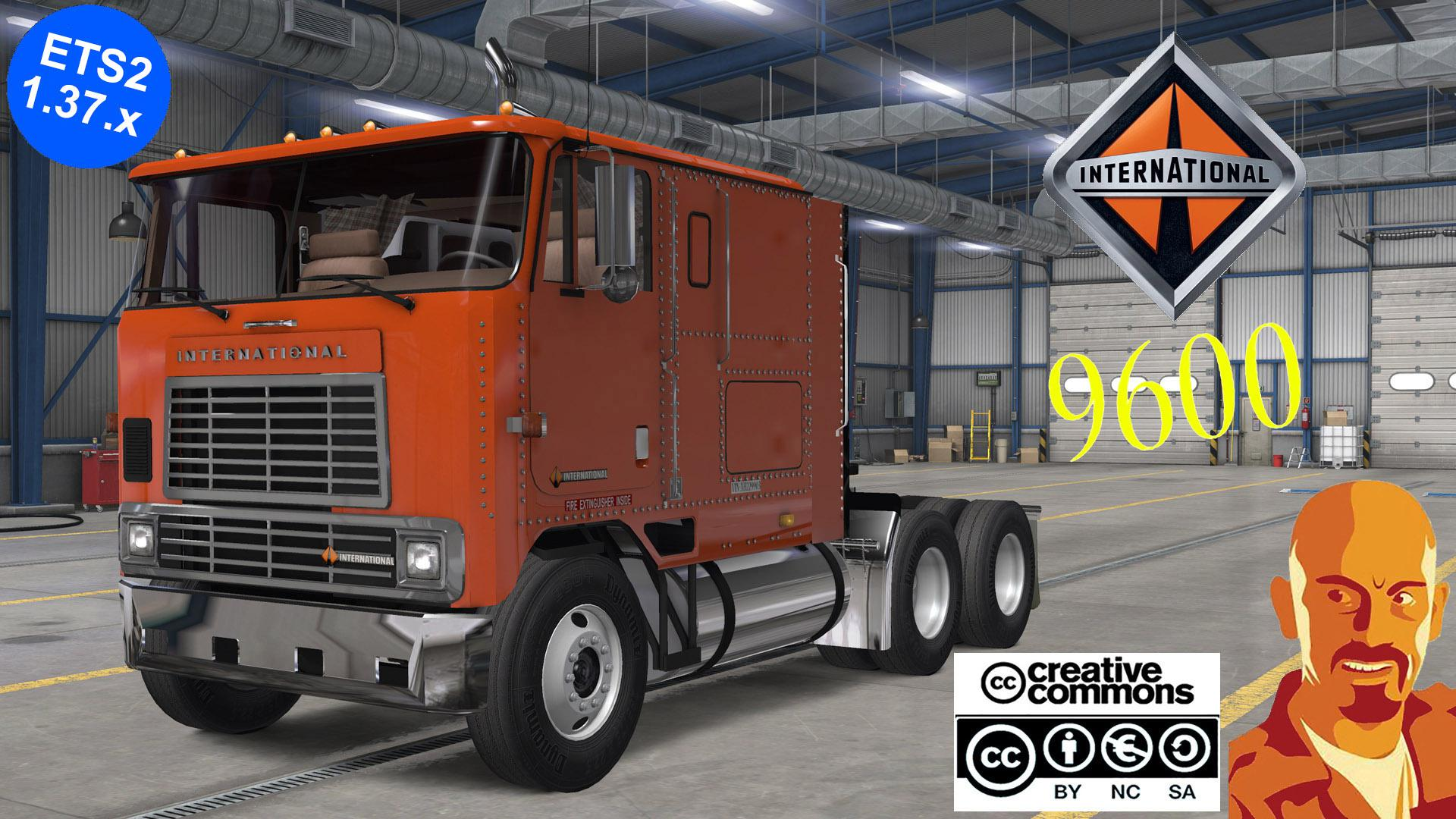ETS2 - International 9600 Reworked Truck (1.37.x)