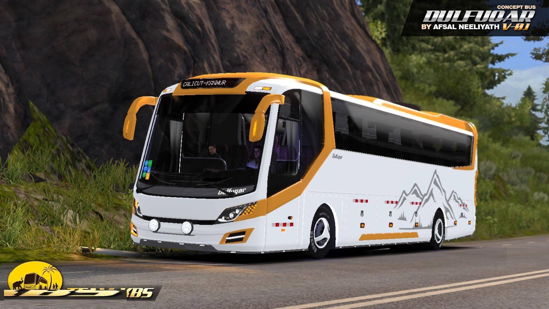 ETS2 - Dulfuqar Concept Bus V1.0 (1.36.x)