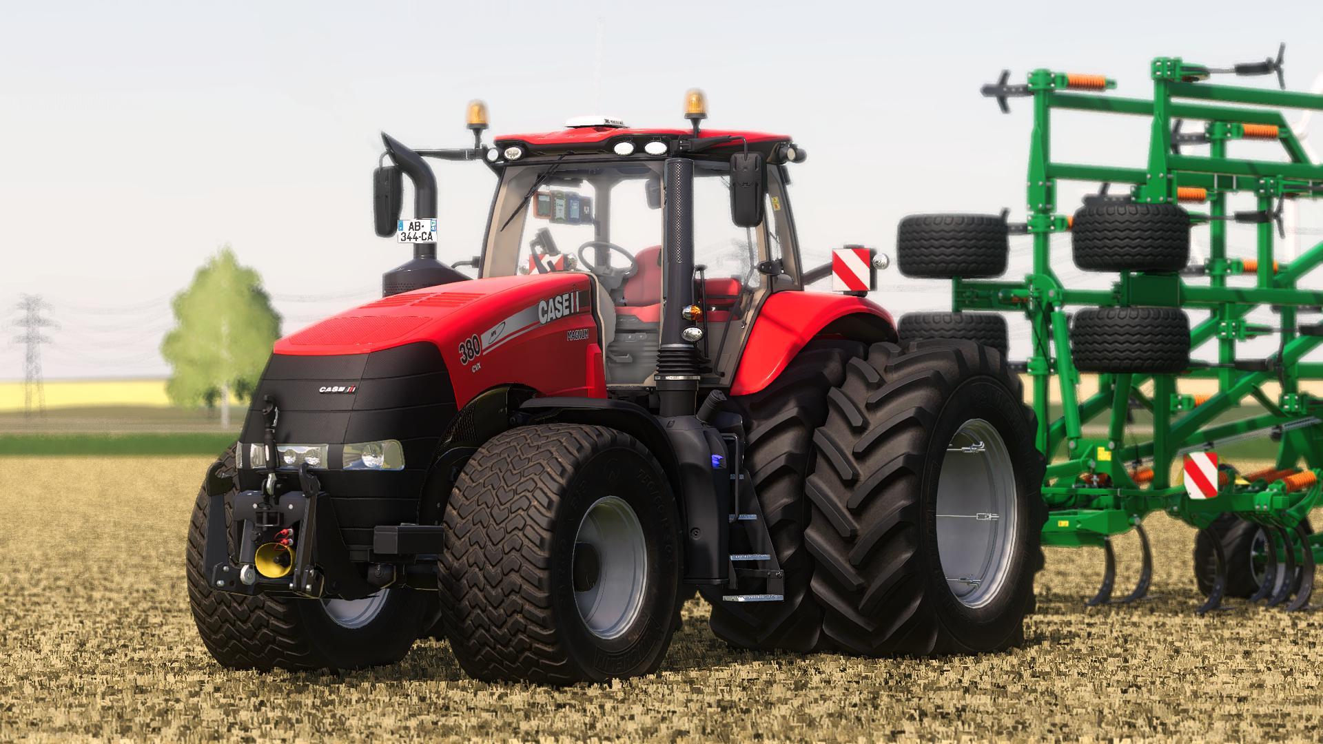 FS19 - Case Magnum Tractor V1
