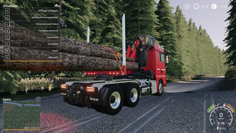 FS19 - Runge Man Truck V1.0