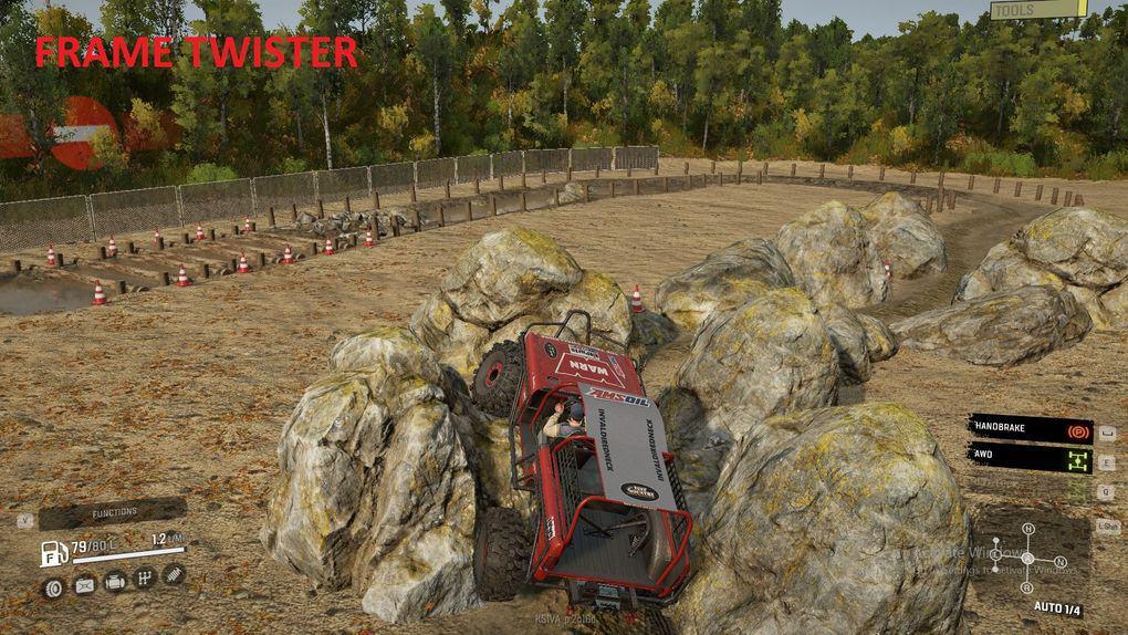 SnowRunner - Base Top Truck Challenge Map V1.0