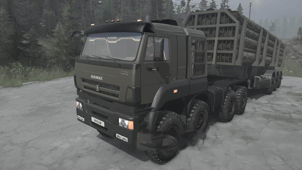 Spintires:Mudrunner - Kamaz-65228 Truck V31.01.21