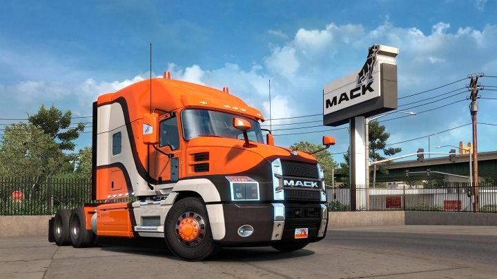 ETS2 - Mack Anthem Truck V1.5 (1.40.x)