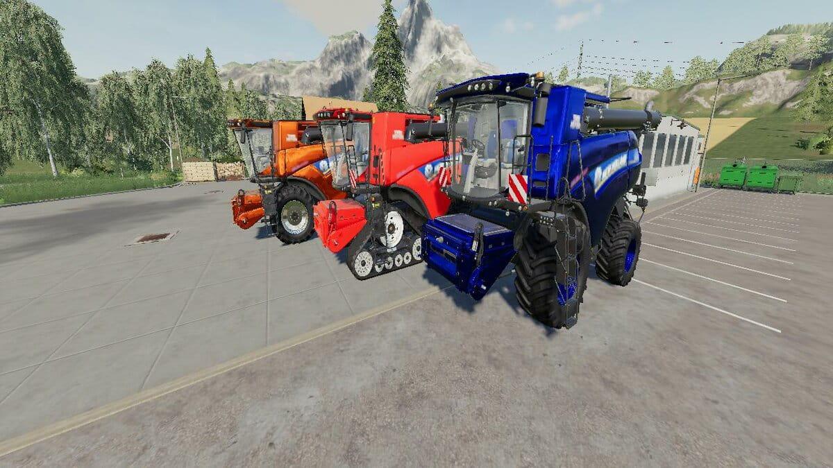 FS19 - New Holland CR1090 Maxi Harvester V1.0