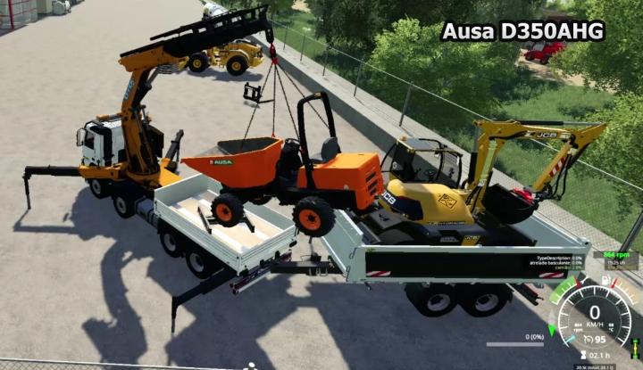 FS19 - Ausa D350AHG V0.1