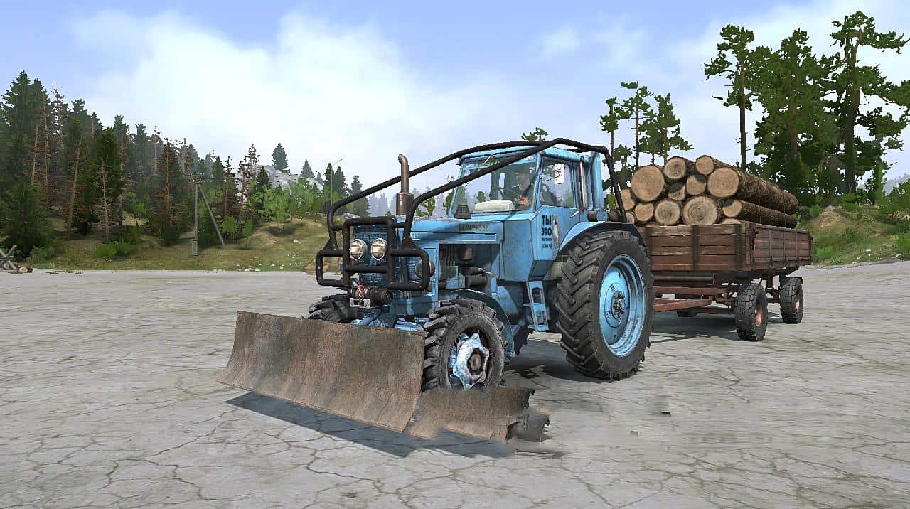 Spintires:Mudrunner - MTZ-80 And MTZ-82 Tractor V1.0