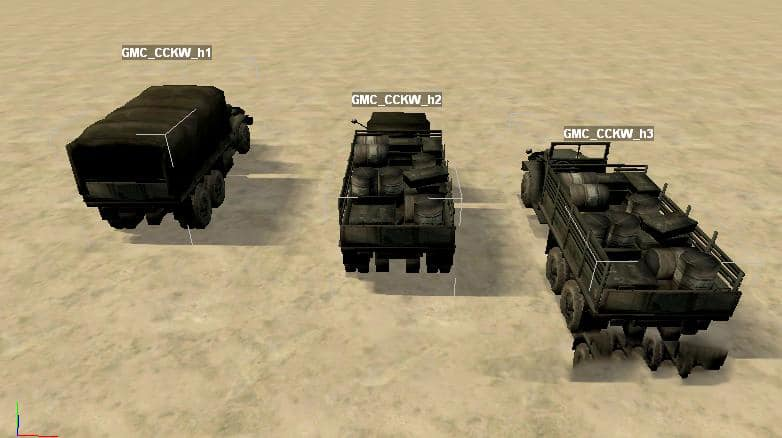 "Spintires - Objects for Spintires Editor ""GMC CCKW 353 Pack"" V1.0"