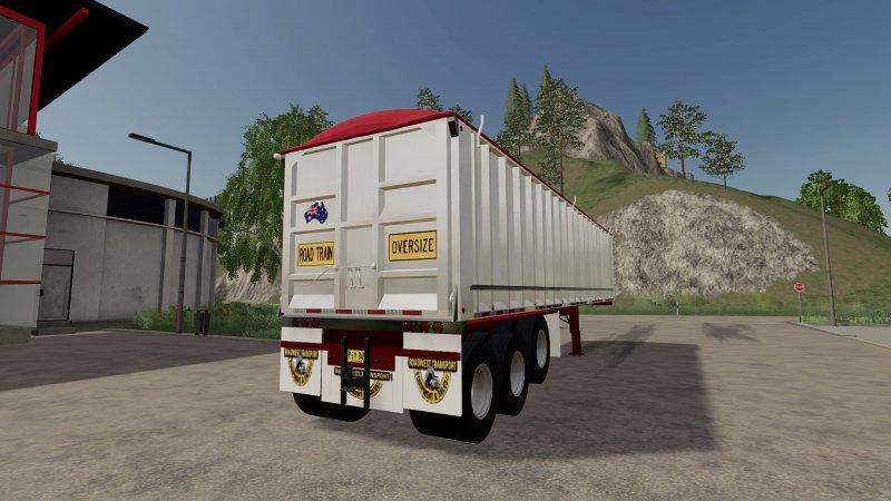 FS19 - 6 Axle Dump Trailer V1.1