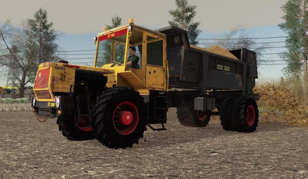 FS19 - ST 180 Rozmetadlo Tractor V1.0