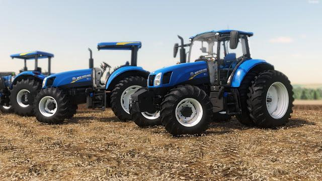 FS19 - New Holland T6 BR Tractor V1