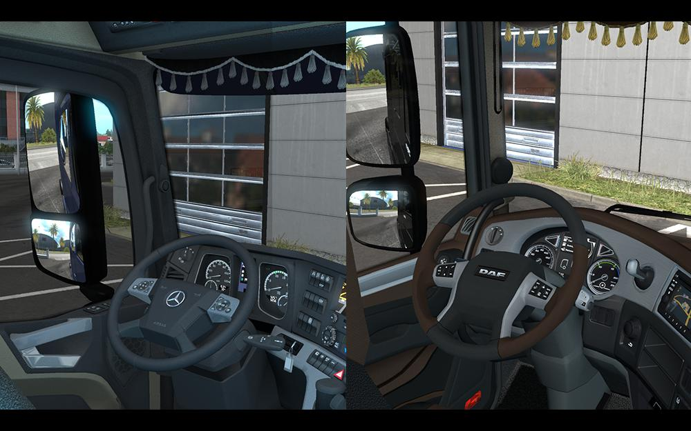 ETS2 - Unlimited Seat for All Truck (1.35.X)
