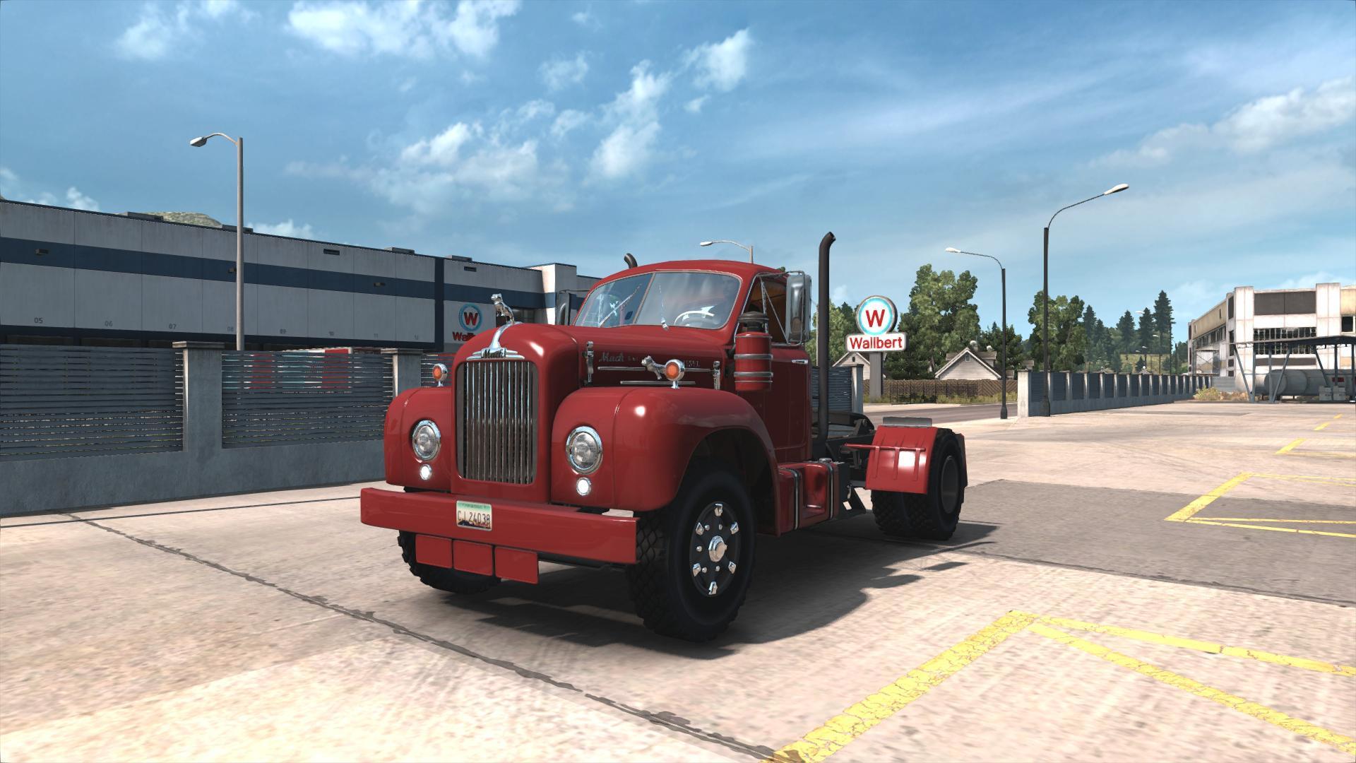 ATS - Mack B62 Truck V2.0 (1.36.x)