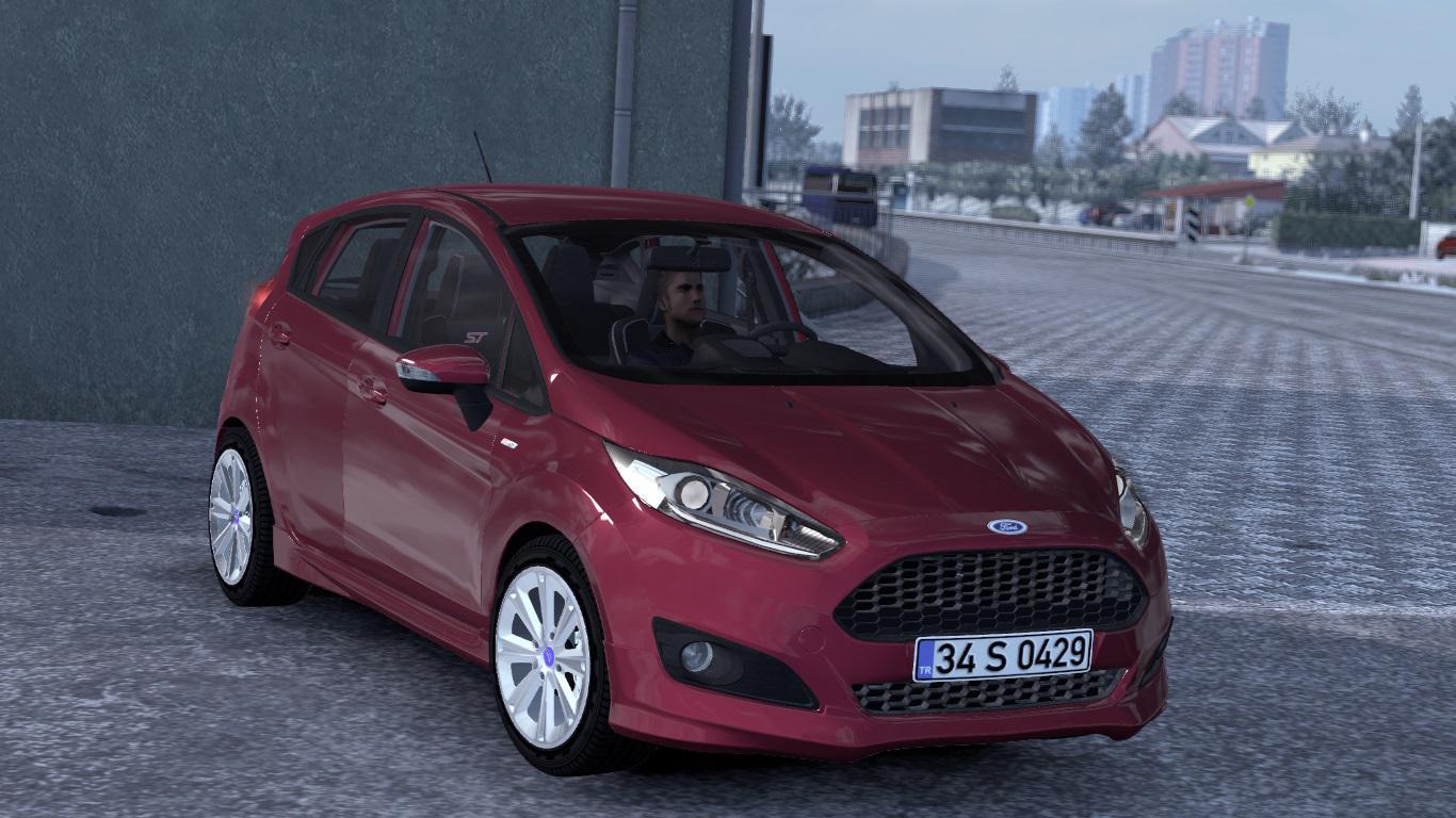 ETS2 - Ford Fiesta ST & ST-Line V1R50 (1.39.x)