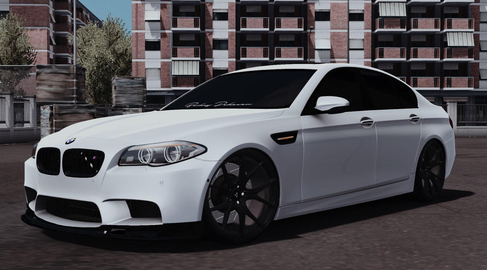 ETS2 - BMW M5 F10 Car Mod V2.0 (1.36.x)