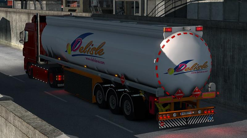 ETS2 - Fuel Cistern Willing Trailer (1.39.x)