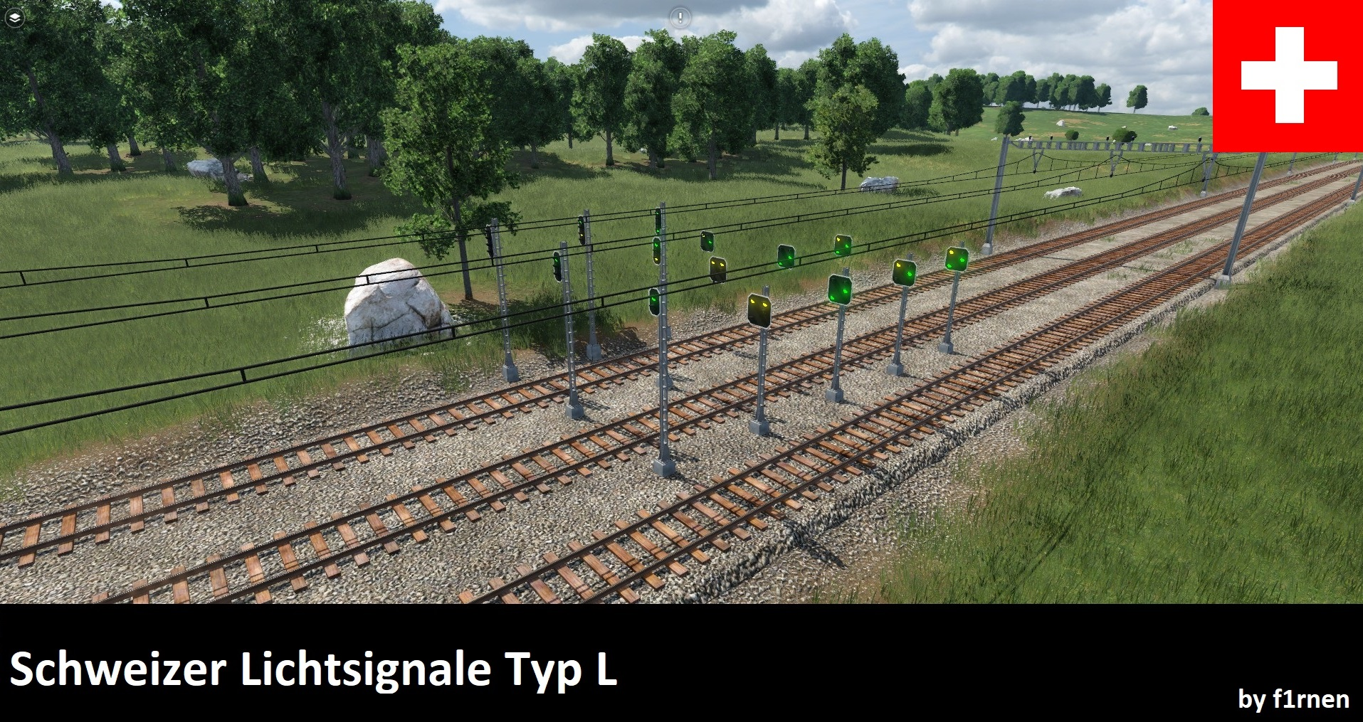 Transport Fever 2 - Swiss Light Signals Type L