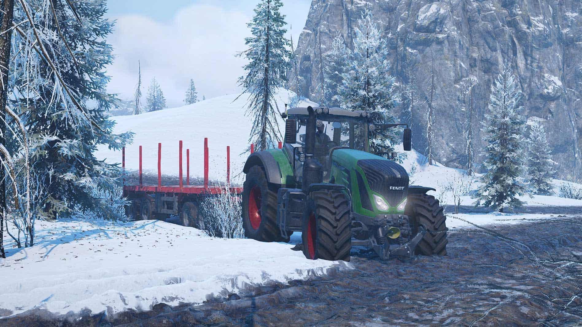 SnowRunner - Fendt 930 Vario Tractor V1.0.0