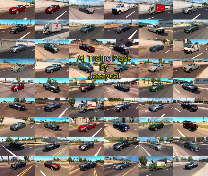 ATS - Classic Cars AI Traffic Pack V6.0 (1.41.x)