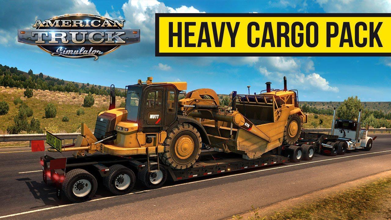 ATS - Heavy Cargo Pack (1.37.x)
