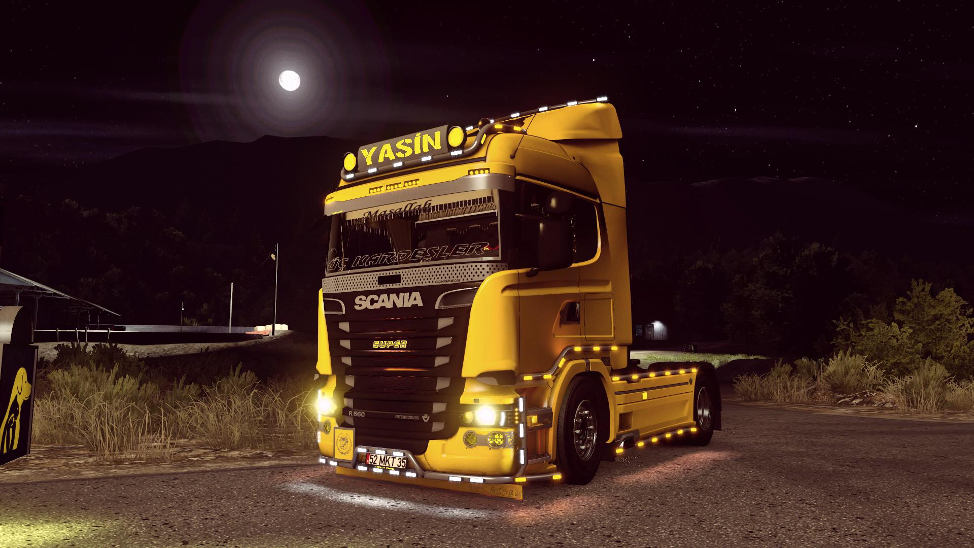 ETS2 - CLM Realistic Graphics Reshade V1.3 (1.37.x)