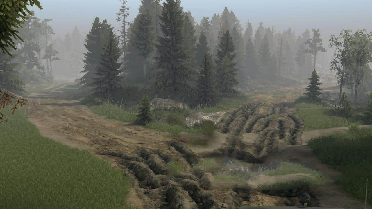 Spintires - Two Lakes Map
