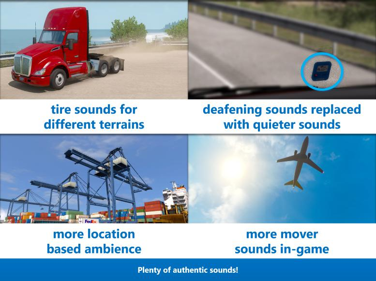 ETS2 - Sound Fixes Pack V19.38 (1.36.x)