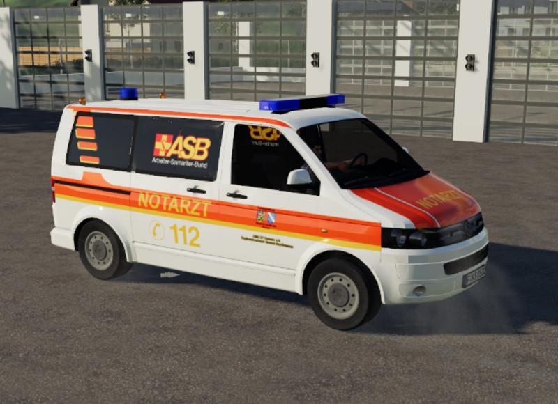 FS19 - ASB Emergency Doctor Volkswagen T5 V1.0