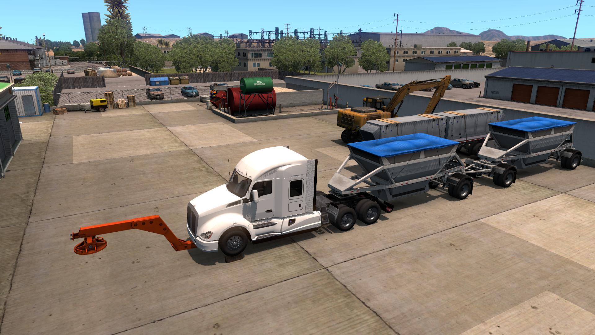 ATS - Tow Truck Broken Trailer (1.37.x)