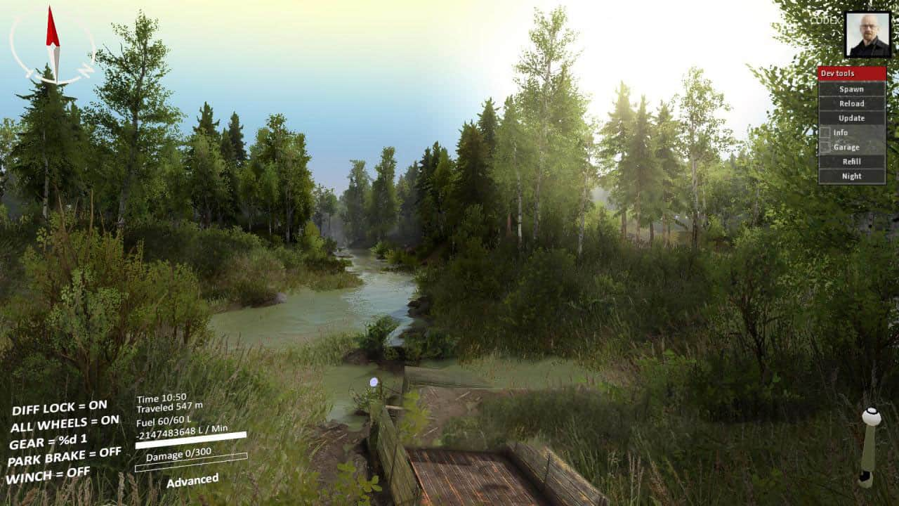 Spintires - Colored Skies 2 Prim Add-on Transylvanian Vacation V1.0