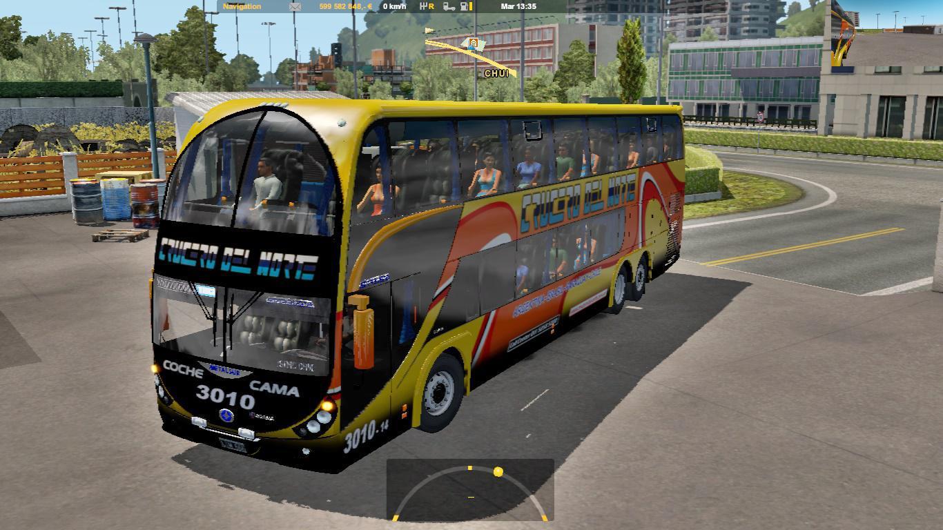 ETS2 - Metalsur Starbus II Bus V2.0 (1.36.x)