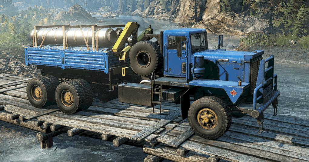 SnowRunner - M181 Pacific P12W (Orca) – Enhanced V1.0