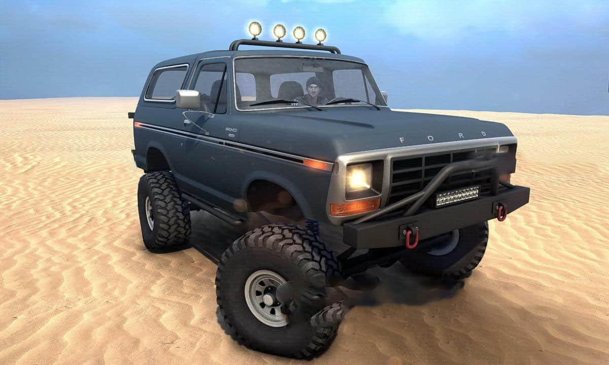 Spintires:Mudrunner - 1978 Ford Bronco V1.0