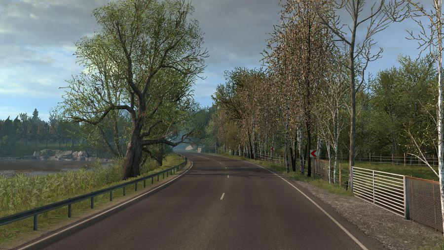 ETS2 - Late Autumn/Mild Winter V3.7 (1.38.x)