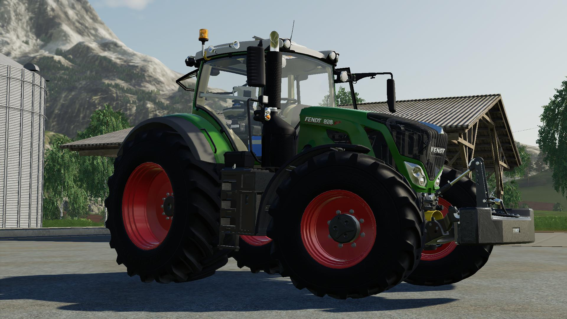 FS19 - Fendt 800 Vario S4 Tractor V1.0