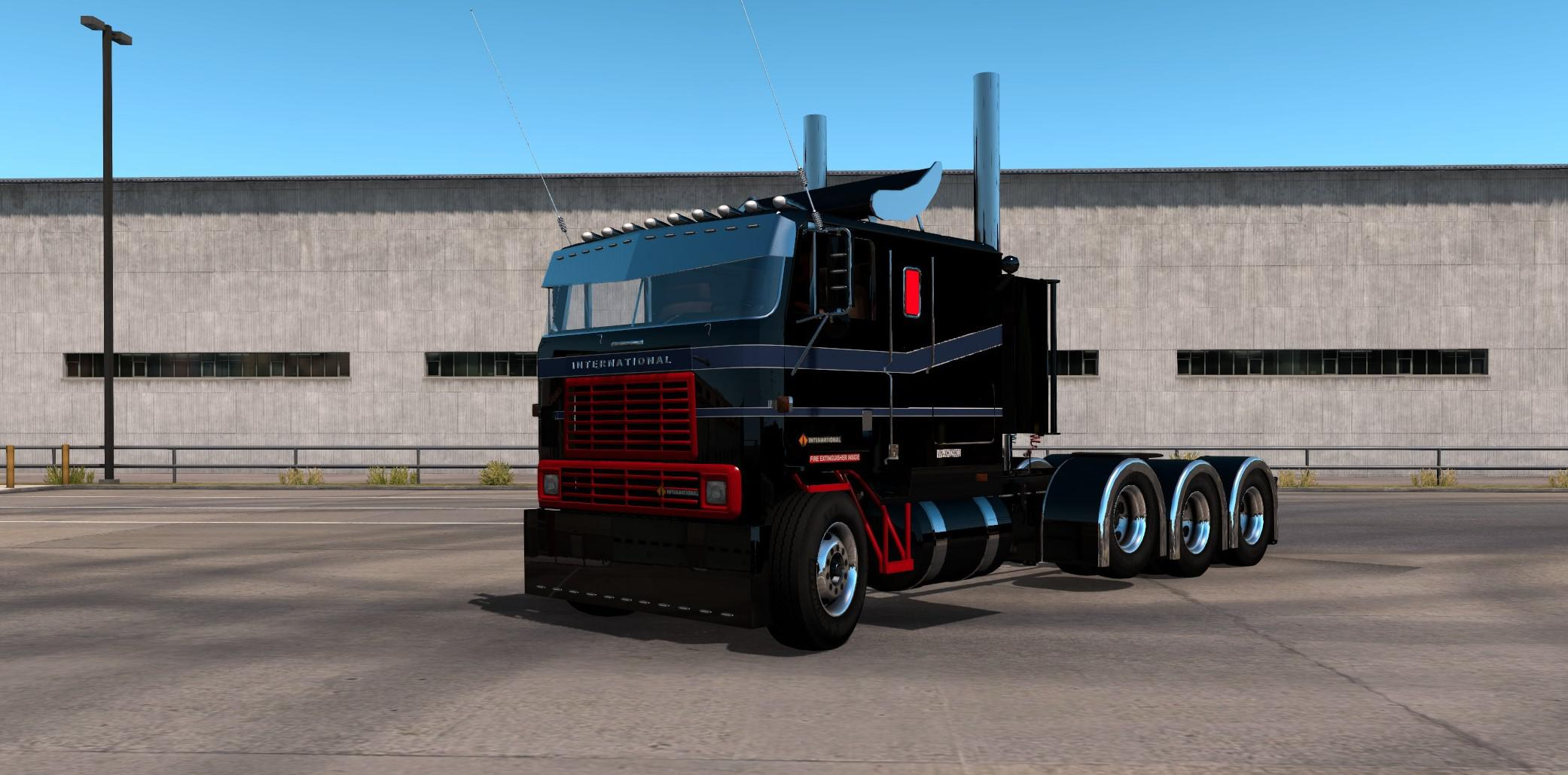 ATS - International 9600 Custom Truck (1.39.x)