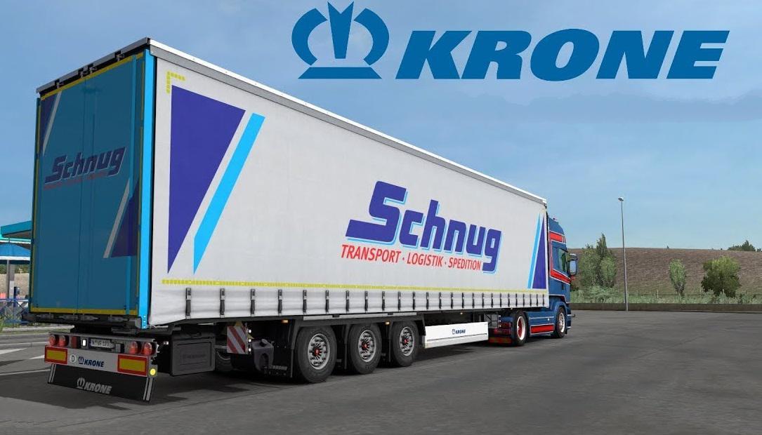 ETS2 - Krone Megaliner Skin Pack V3.4.1 (1.35.X)