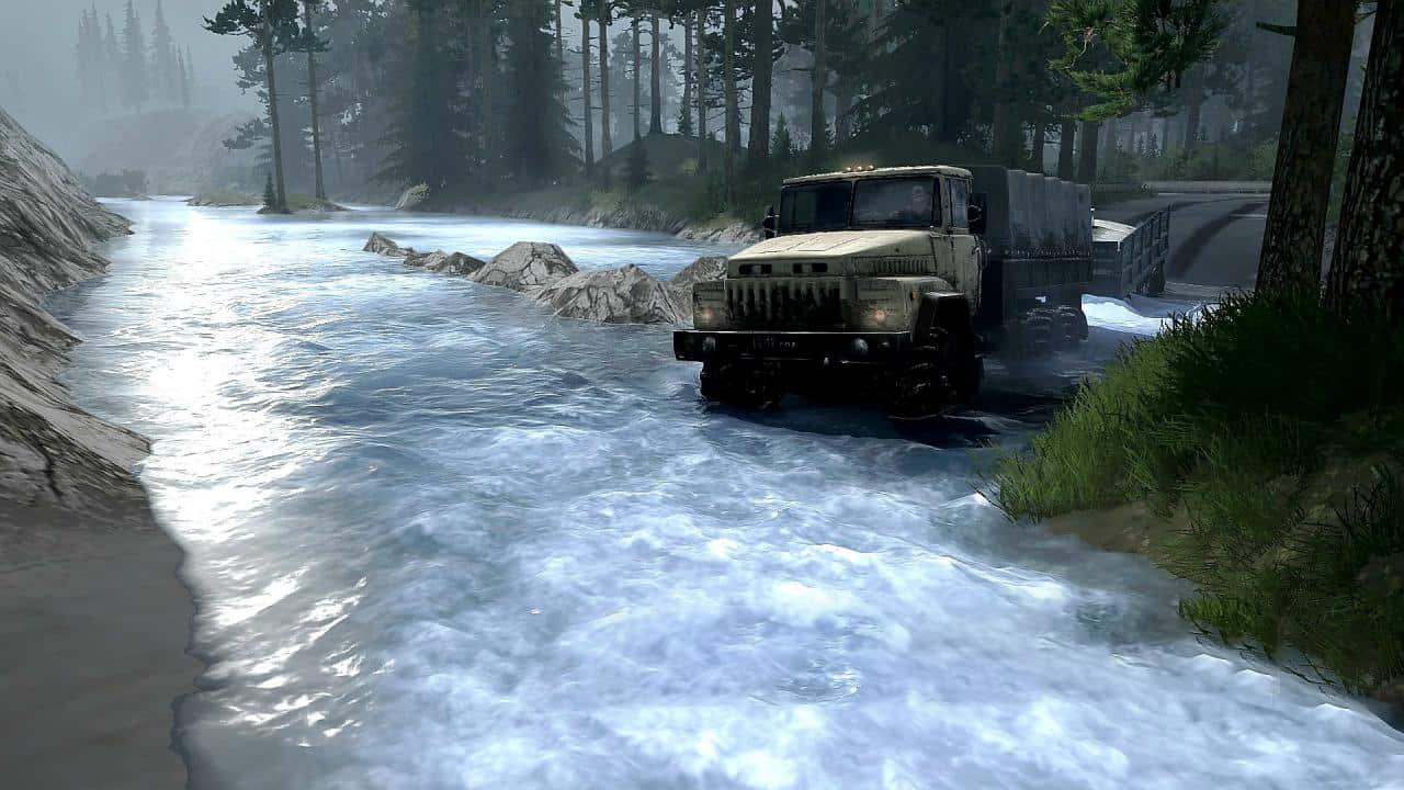 Spintires:Mudrunner - There on Narrow Paths 3 Map V1.0