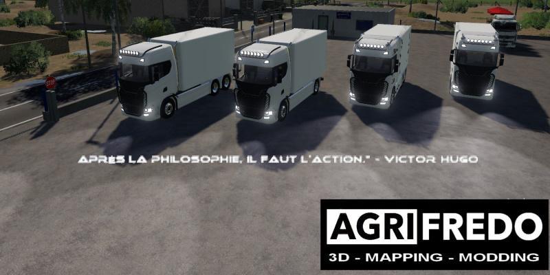 FS19 - Scania Forain Pack V1