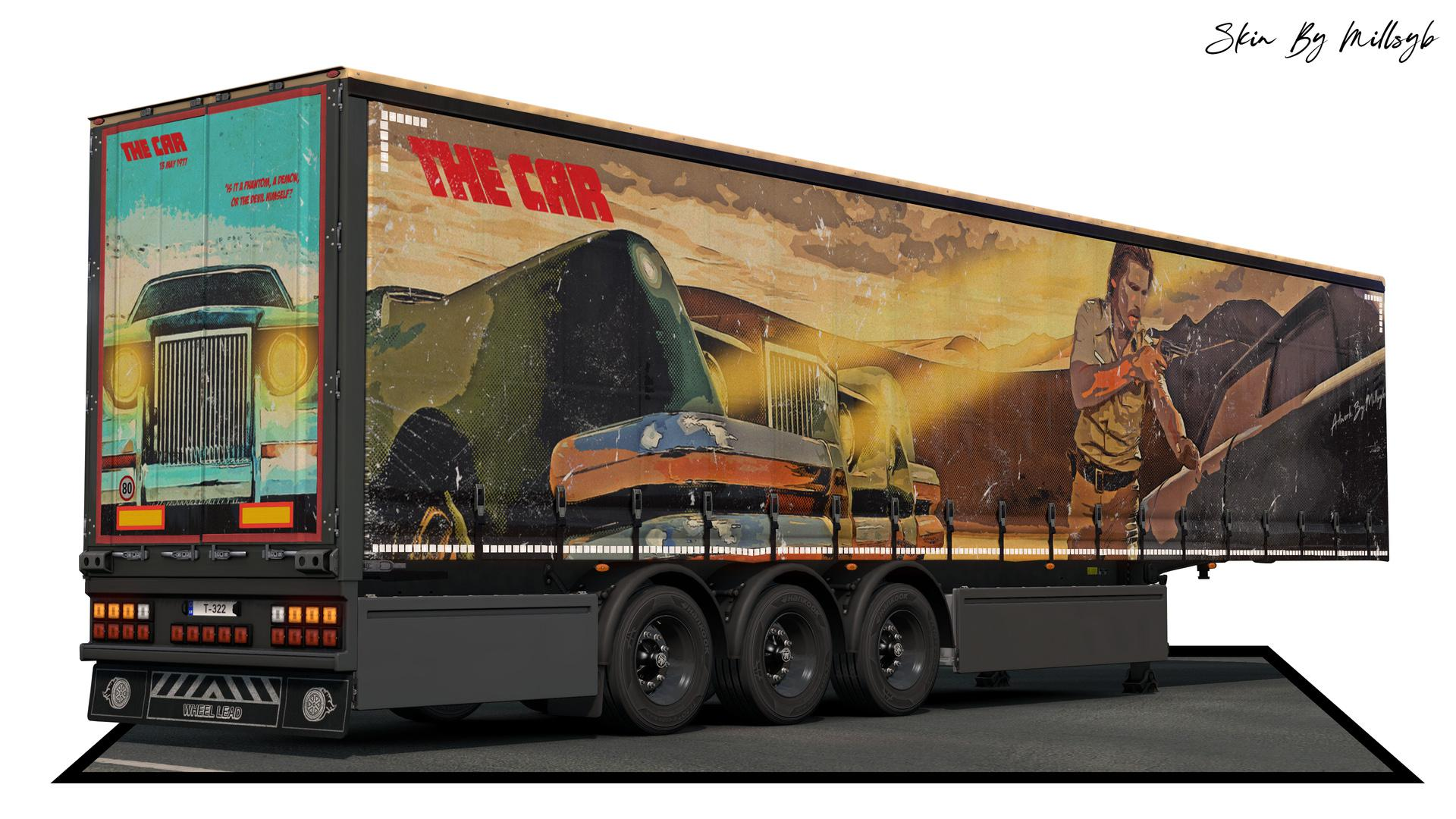 ETS2 - The Car Trailer Skin V1.0 (1.36.x)