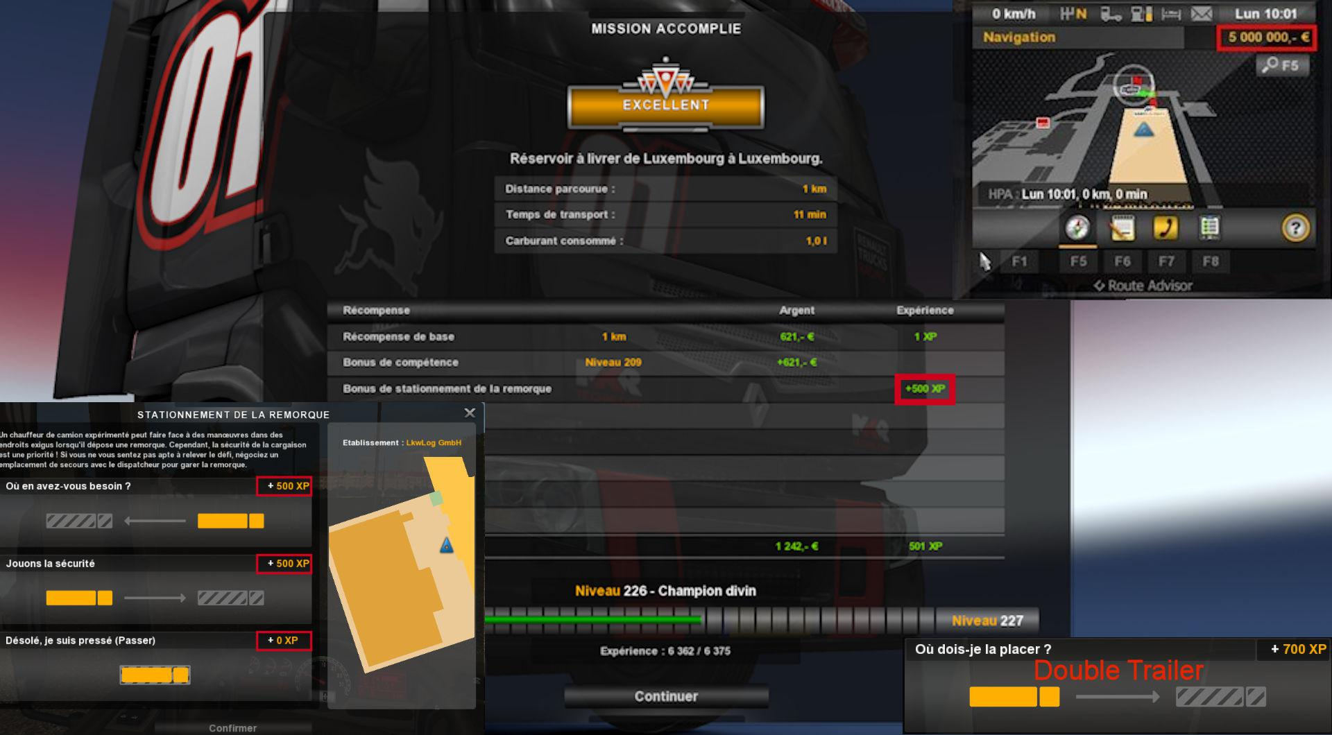 ETS2 - Fast Level & More XP (1.37.x)