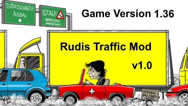 ETS2 - Rudis Rush Hour (1.36.x)