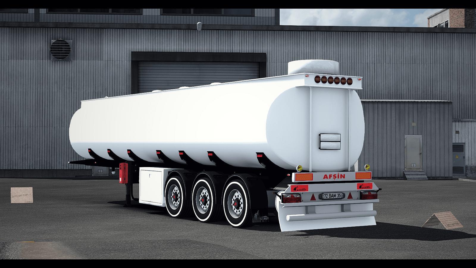 ETS2 – Mammut Tanker Trailer V1.0 (1.35.X)