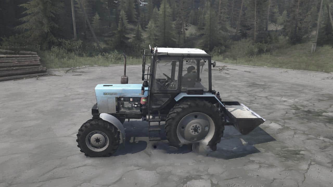 Spintires:Mudrunner - Mtz 82 Tractor V30.03.20