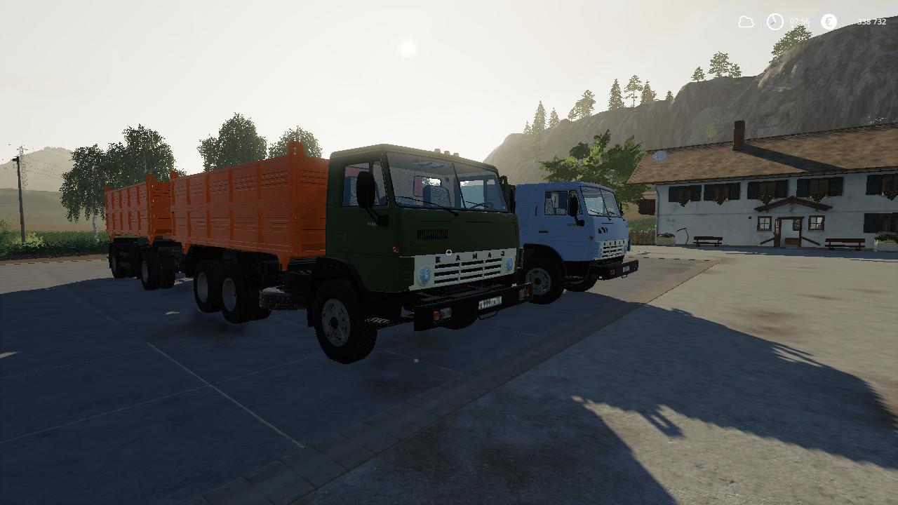 FS19 - Kamaz 55102 & NEFAZ 8560 V1.1