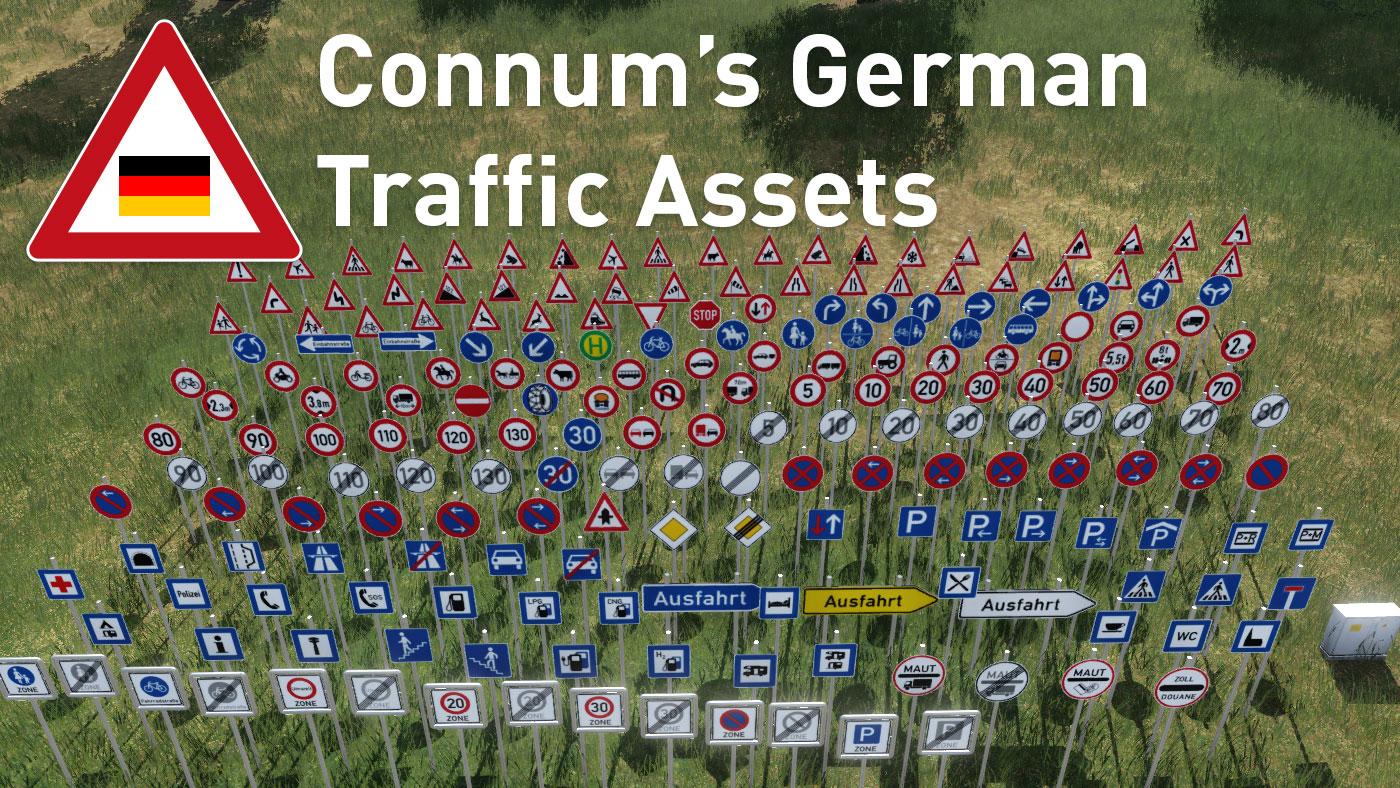 Transport Fever 2 - Connums German Traffic Assets