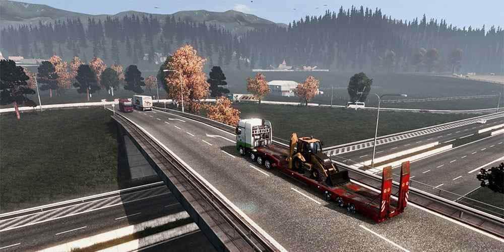 ETS2 - New Road HD V2.1 (1.36.x)