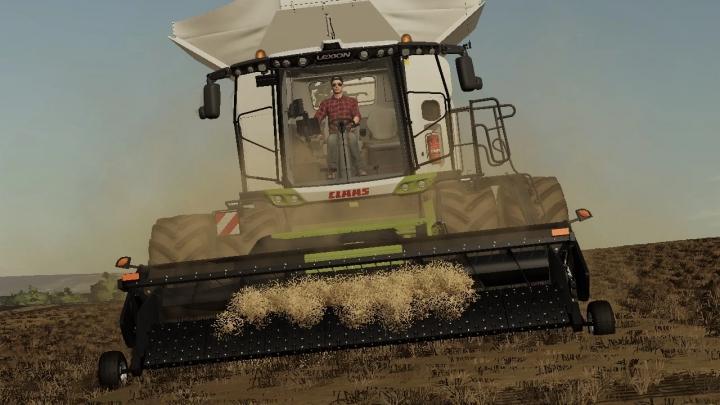 FS19 - Claas Lexion 8000 Harvester V1.0