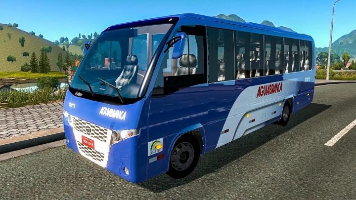 ATS - Mercedes-Benz Volare W9 Bus + Interior V1.6 (1.41.x)