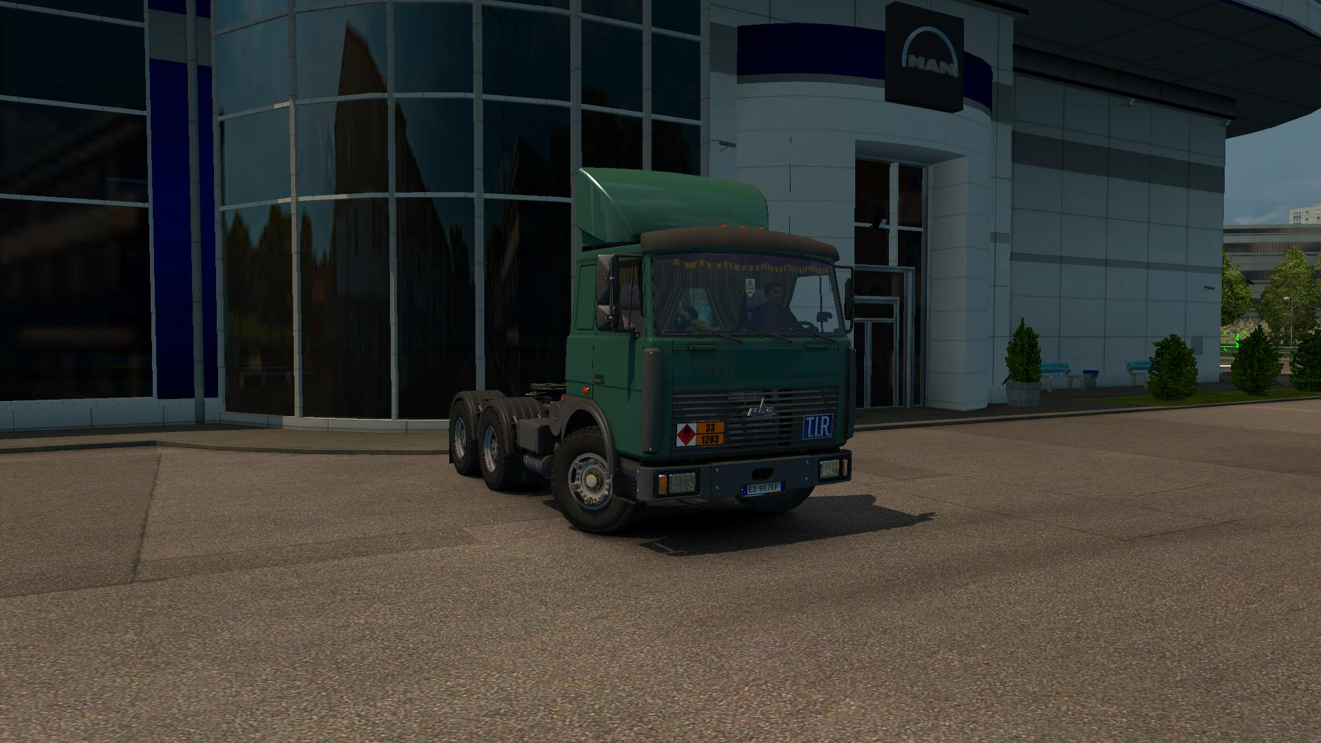 ETS2 - Maz 6422 Truck (1.36.x)