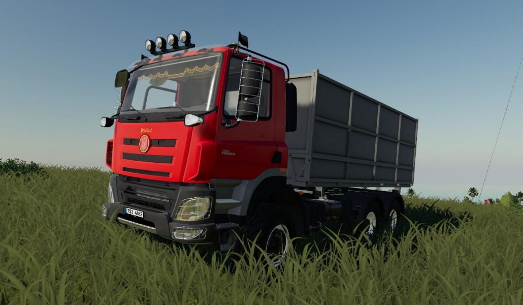 FS19 - Tatra Phoenix Euro 6 Truck V1.0